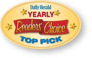 Daily Herald readers choice award